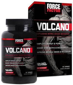 Force Factor VolcaNO® Nitric Oxide 120 Capsules