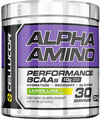 Cellucor Alpha Amino BCAAs Lemon Lime 13.4 oz. 13 oz. Powder