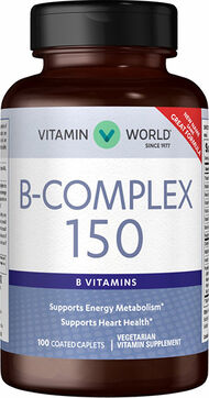 Vitamin World Mega B-150™ Complex 150 mg. 100 Caplets