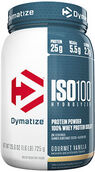 Dymatize ISO-100® Whey Protein Isolate Gourmet Vanilla 1.6 lbs. 1.6 lbs. Powder
