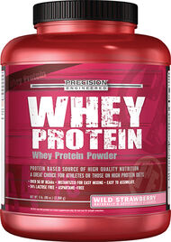 Whey Protein Wild Strawberry 5 lbs., , hi-res