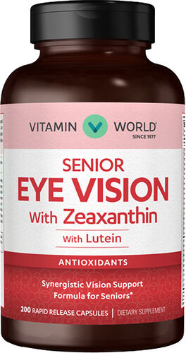 Vitamin World Senior Eye Vision with Zeaxanthin Lutein
