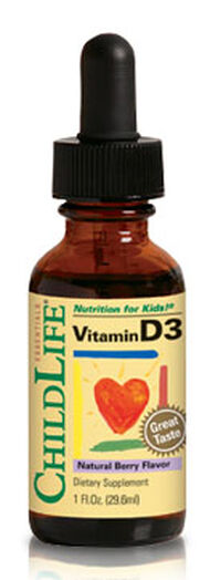 Liquid Vitamin D3 for Kids, , hi-res