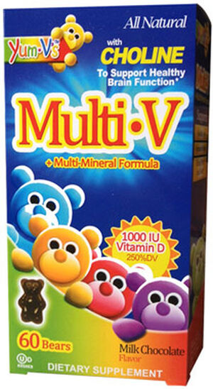 Yum-V's Yum-V's Multi Vitamin Chocolate 60 Chewables
