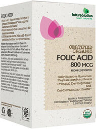 Certified Organic Folic Acid, , hi-res