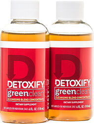 Detoxify® Green Clean® Herbal Cleanse 2 Bottles