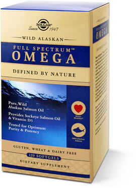 Wild Alaskan Salmon Oil Full Spectrum Omega
