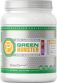 Bio-logical Green Monster Pre-Workout Lemon Berry Iced Tea, , hi-res