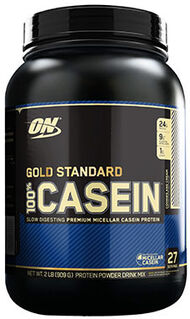 Optimum Nutrition Gold Standard 100% Casein™ Cookies & Cream 2 lbs.