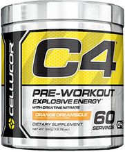 C4 Pre Workout Orange Dreamsicle 13.75 oz.