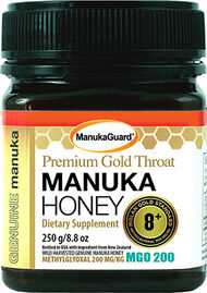 ManukaGuard® Premium Gold Throat Manuka Honey 8+ MGO 200