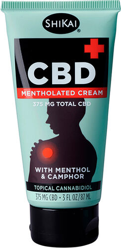 Shikai CBD Mentholated Cream