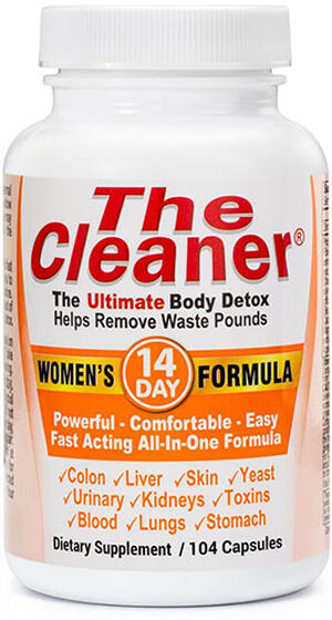Century Systems The Cleaner® 14 Day Women's Formula 104 Capsules