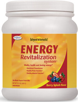 Enzymatic Therapy, LLC. Energy Revitalization System 21 oz. Powder Berry Splash