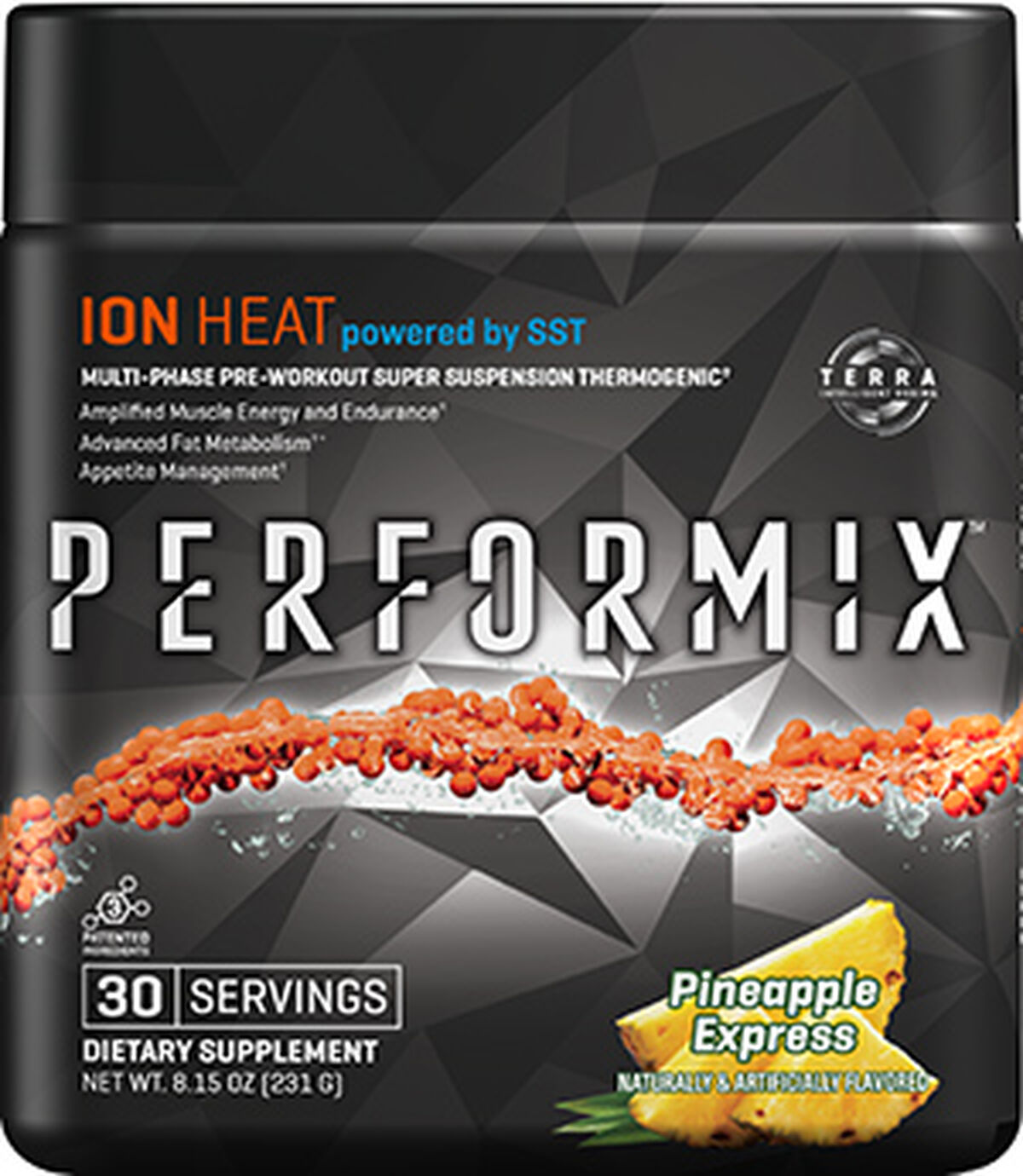 Performix™ ION Heat Pineapple Express | Weight Support | Vitamin World | Tuggl