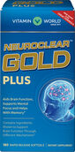 Vitamin World NeuroClear™ Gold Plus 180 Softgels