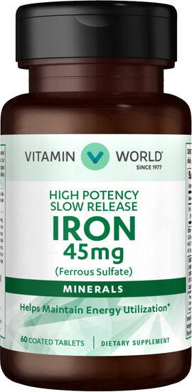 Slow Release Iron 45mg