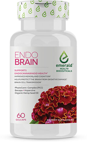 Emerald Health Bioceuticals Endo Brain Organic Hemp Seed Oil