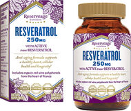 Reserveage™ Nutrition Resveratrol 250 mg. 60 Capsules