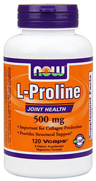 NOW Foods L-Proline 120 Vegi Caps