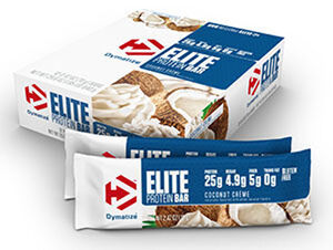 Elite Protein Bars Coconut Creme, , hi-res