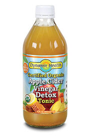 Organic Apple Cider Vinegar Detox Tonic