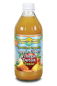 Dynamic Health Organic Apple Cider Vinegar Detox Tonic 16 oz. Liquid