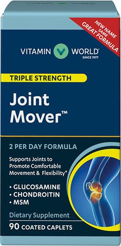 Vitamin World Triple Strength Joint Mover™ 90 Caplets