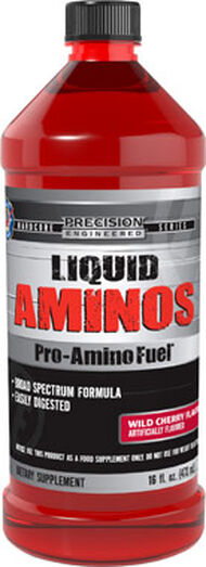 Precision Engineered® Anabolic Liquid Aminos 16 oz. Liquid Wild Cherry