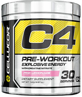 C4 Pre Workout Pink Lemonade 6.87 oz.