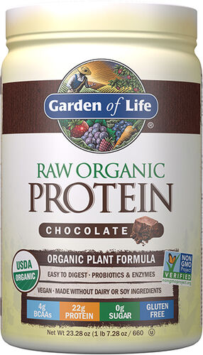 Garden of Life RAW Organic Protein Powder - Chocolate - 20 servings