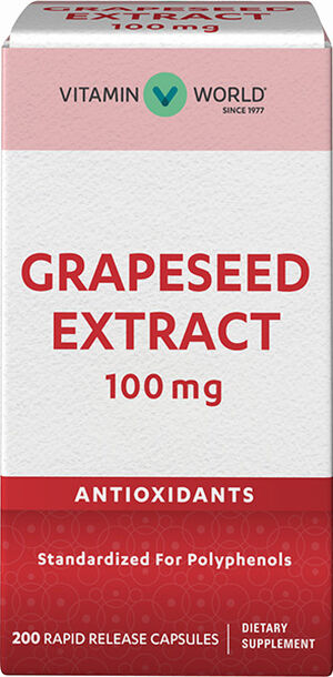 Grapeseed Extract 100mg, 200, hi-res