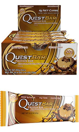 Quest Bars Chocolate Peanut Butter, , hi-res