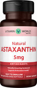 Vitamin World Astaxanthin 5 mg