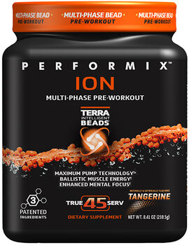 Performix™ ION Pre Workout 45 Servings Tangerine