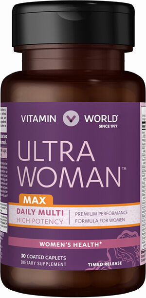 Vitamin World Ultra Woman™ Max Daily Multivitamins 30 caplets