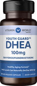Vitamin World DHEA 100 mg. 60 Capsules