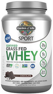 Sport Certified Grass Fed Whey Protein Chocolate 1.7 lbs.