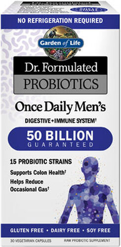 Garden Of Life Dr. Formulated Probiotics Once Daily Men's 30 Capsules