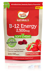 Naturals Vitamin B-12 Energy Chews