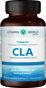 Vitamin World Tonalin® CLA 1000 mg. 90 Softgels