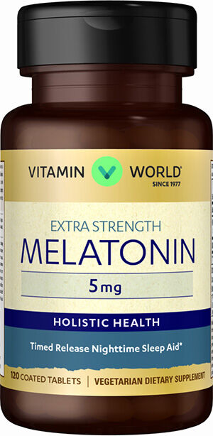 Melatonin 5 mg Timed Release, , hi-res
