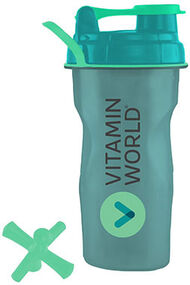 Vitamin World Jaxx® Shaker Cup 1 Bottle Green