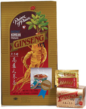 Prince of Peace Korean Ginseng Tea 10 Tea Bags Korean ginseng Korean Ginseng Root extract