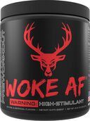 DAS Labs Bucked Up® Woke AF™ Pre Workout Blood Raz 12.67 oz. Powder