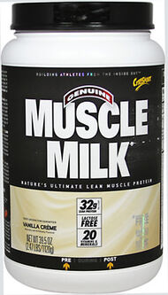 Muscle Milk® Whey Protein Vanilla Crème 2.47 lbs.