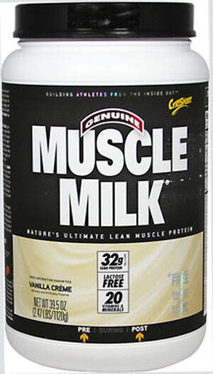 Muscle Milk® Whey Protein Vanilla Crème 2.47 lbs., , hi-res