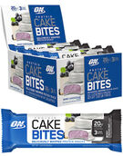 Optimum Nutrition Protein Cake Bites Berry Cheesecake 12 Packs