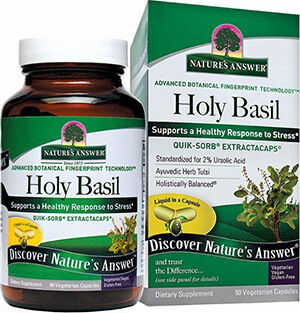 Nature's Answer Holy Basil Tulsi
