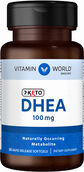 Vitamin World 7-Keto DHEA 100 mg.